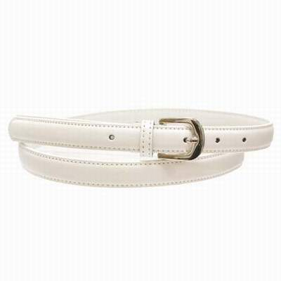 a2e3dbe6f22 ceinture blanc homme 130 cm
