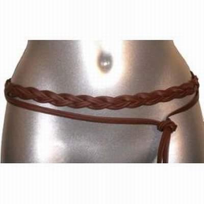 ceinture tressee blanche,fabriquer ceinture tressee,ceinture fine tressee 4ef315d48d5