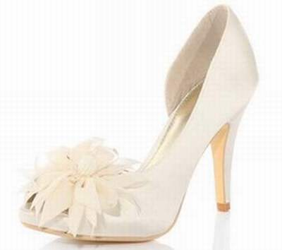 1b497124adc chaussures ivoire mariage femme