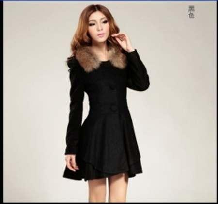Manteau mi long femme hiver
